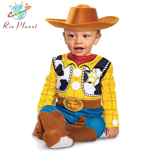 トイストーリー4 ウッディ 仮装 幼児用 衣装 ベービー用 着ぐるみ キッズ用 ハロウィン Toy Story 4