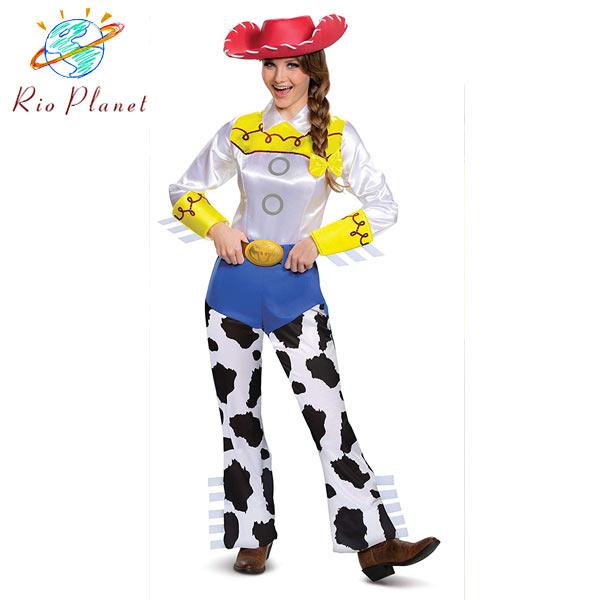 トイストーリー4 ジェシー 仮装 大人用 衣装 コスプレ レディース ハロウィン カーボーイ ディズニー Toy Story 4
