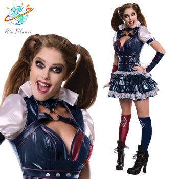 Harley Quinn コスプレ 仮装 コスチューム ハロウィン 衣装 2019 ホアキン バットマン ハーレイ・クイン
