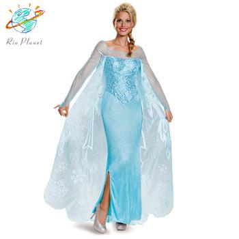 アナと雪の女王 エルサ 大人用 ドレス 幼児用 Disney 仮装 ハロウィン ディズニー Frozen