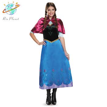 アナと雪の女王 アナ 大人用 衣装 Disney ドレス 仮装 ハロウィン ディズニー Frozen