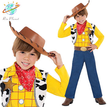 ディズニー トイストーリー ウッディ コスプレ コスチューム 子供服 キッズ なりきり ハロウィン バズ ディズニー公式 Disney Toy Story