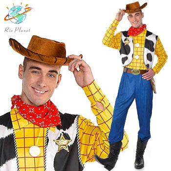 ディズニー トイストーリー ウッディ コスプレ コスチューム 大人用 なりきりメンズ ハロウィン ディズニー公式 Disney Toy Story