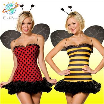 ミツバチ 衣装 てんとうむし コスチューム コスプレ ミツバチ 衣装 てんとうむし コスチューム コスプレ