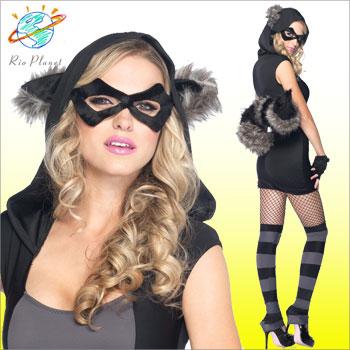 ハロウィン 衣装 仮装 セクシー あらいぐまコスチューム ハロウィン 衣装 仮装 セクシー あらいぐまコスチューム