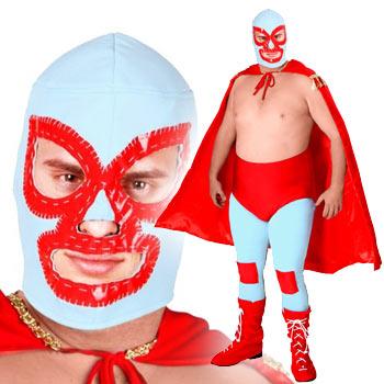 ナチョリブレ プロレス マスク おもしろ 仮装 コスチューム コスプレ お笑い 大きいサイズ NACHO LIBRE