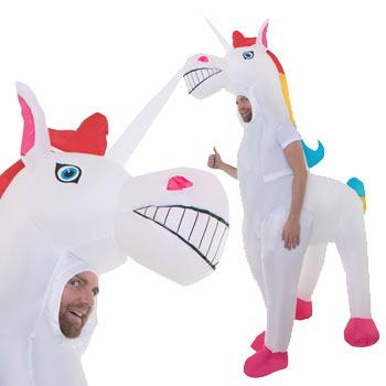 ユニコーン 動物 男性 メンズ おもしろ 仮装 コスチューム コスプレ お笑い 爆笑 UNICORN