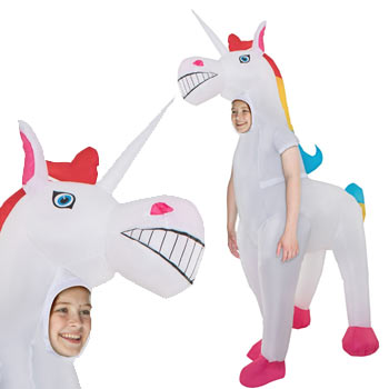 ユニコーン 動物 子供 おもしろ 仮装 コスチューム コスプレ お笑い 爆笑 UNICORN