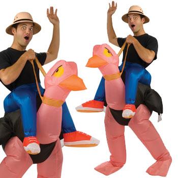 ガチョウ 動物 おもしろ 仮装 コスチューム コスプレ お笑い 爆笑 ハロウィン OSTRICH