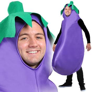 なす 野菜 おもしろ 仮装 コスチューム コスプレ お笑い 爆笑 ハロウィン EGGPLANT COSTUME