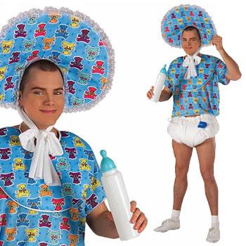 赤ちゃん 大人 おもしろ 仮装 コスチューム コスプレ アダルト 衣装 プレイ BABY