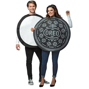 オレオ クッキー カップル おもしろ 仮装 コスチューム コスプレ お笑い 衣装 ハロウィン OREO COOKIE