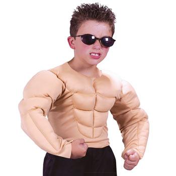 筋肉 マッスル 子供 おもしろ 仮装 コスチューム コスプレ お笑い 衣装 MUSCLE CHEST