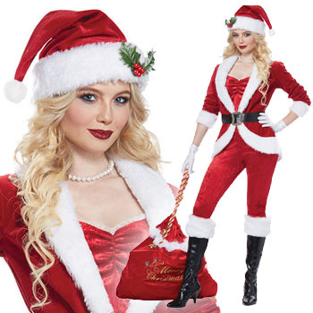 サンタクロース セクシー クリスマス コスプレ サンタ 衣装 仮装 コスチューム SANTA