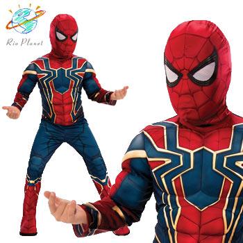 スパイダーマン 子供用 コスプレ コスチューム ハロウィン スーツ Holloween Spider-Man
