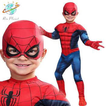 スパイダーマン スーツ 幼児用 コスプレ コスチューム ハロウィン 子供用 Holloween Spider-Man