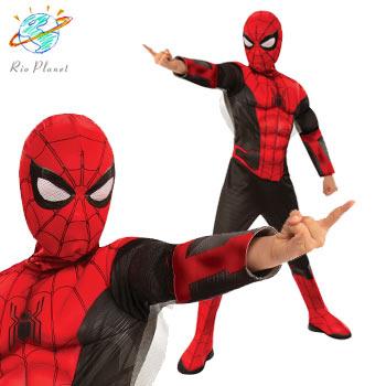 スパイダーマン 赤と黒 スーツ コスプレ コスチューム ハロウィン Holloween Spider-Man