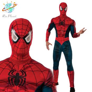 スパイダーマン 大人用 スーツ コスプレ コスチューム ハロウィン Holloween Spider-Man