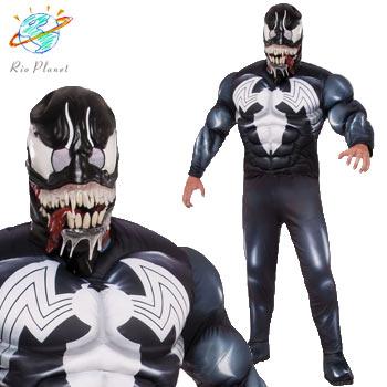 スパイダーマン ヴェノム スーツ 大人用 コスプレ コスチューム ハロウィン Holloween Spider-Man