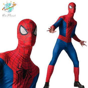 スパイダーマン クラッシック コスチューム スーツ 大人用 コスプレ ハロウィン Holloween Spider-Man