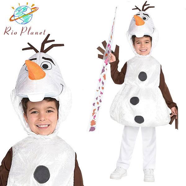アナと雪の女王 2 子供 オラフ なりきり アナ雪 キッズ コスプレ 衣装 仮装 コスチューム Frozen 2