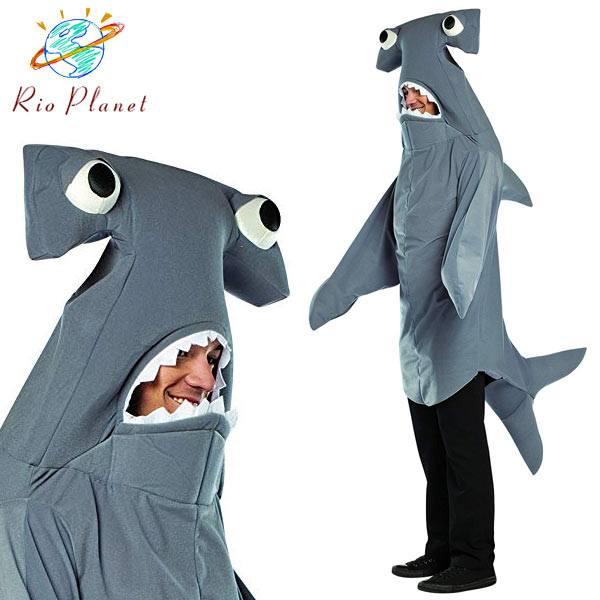 サメ 着ぐるみ コスプレ 大人用 衣装 アニマル 面白い おもしろ ハロウィン Shark