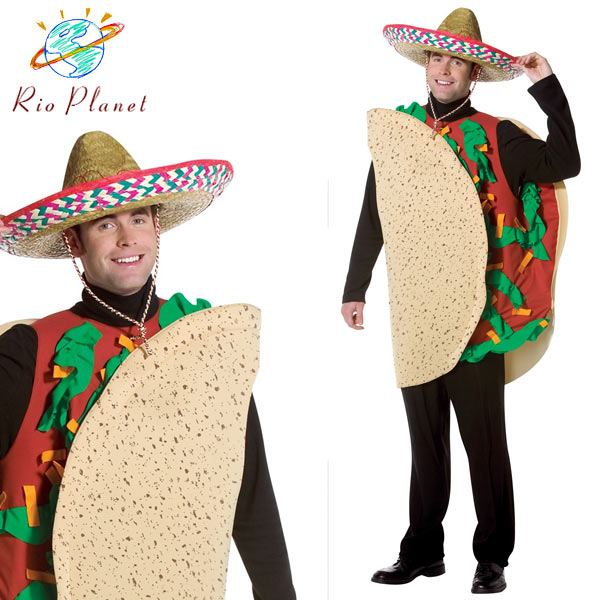タコス 着ぐるみ コスプレ 大人用 衣装 仮装 面白い おもしろ ハロウィン Taco