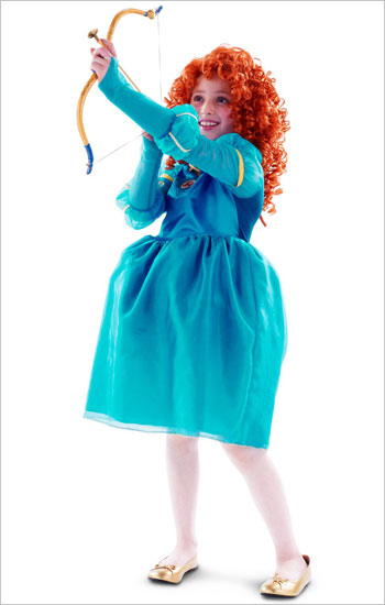 Rio Planet Disney Cosplay Costume Princess Merida And Fear Of Woods