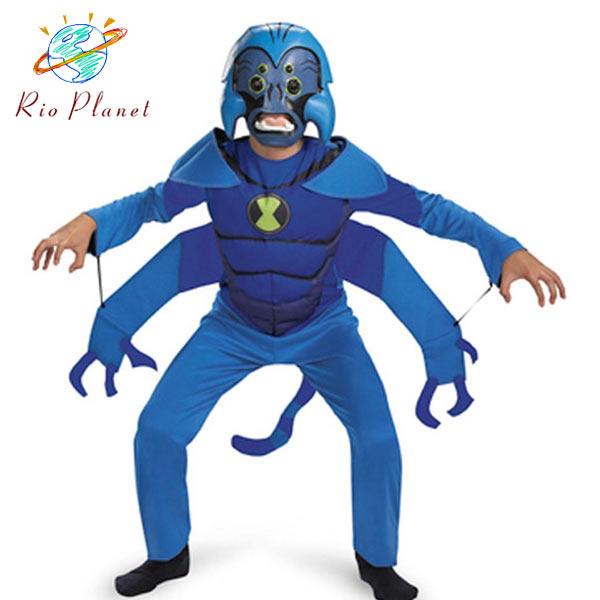 ベン10 スパイダーモンキー コスチューム 子供用 ベン10 スパイダーモンキー コスチューム 子供用