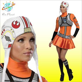 スターウォーズ コスチューム コスプレ 衣装 Xウィング レディース 仮装 ハロウィン 大きいサイズ star wars star Wars スターウォーズ