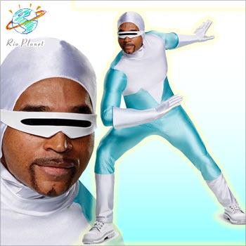 インクレディブル フロゾン コスチューム コスプレ ファミリー 仮装 衣装 INCREDIBLES FROZONE
