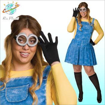 ミニオン コスプレ ミニオンズ 大きいサイズ 大人 ハロウィン コスチューム レディース 仮装 Minions
