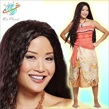 モアナと伝説の海 衣装 コスチューム コスプレ 仮装 大人 ハロウィン Moana