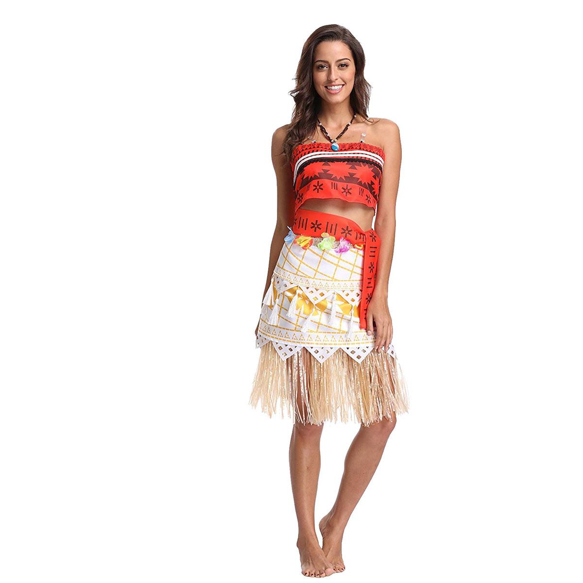 モアナと伝説の海 衣装 コスチューム コスプレ ハワイアン 仮装 大人 ハロウィン Moana