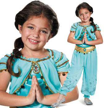 アラジン ジャスミン コスプレ コスチューム 衣装 仮装 キッズ 子供 ディズニー Aladdin
