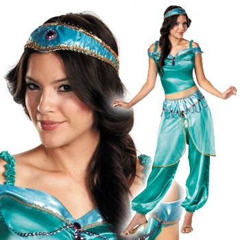 アラジン ジャスミン コスプレ コスチューム 衣装 仮装 大人 ドレス ディズニー Aladdin