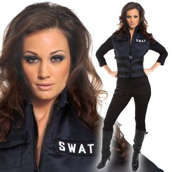 スワット コス コスプレ 仮装 スワット コスチューム レディース 女性 ベスト swat