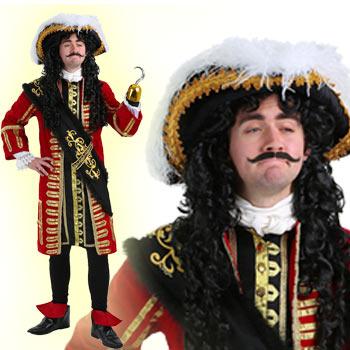 キャプテン・フック コスプレ フック 船長 海賊 衣装 コスチューム 仮装 ハロウィン パイレーツ CAPTAIN HOOK