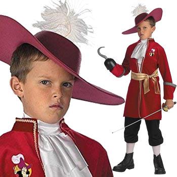 キャプテン・フック コスプレ フック 船長 海賊 衣装 子供 仮装 コスチューム ハロウィン CAPTAIN HOOK