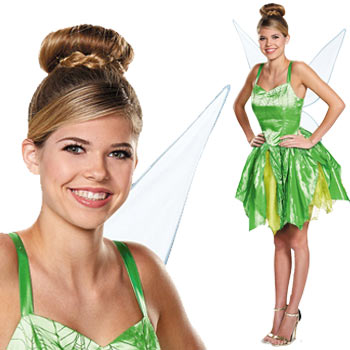 ティンカー ベル コスプレ 衣装 コスチューム 仮装 ハロウィン ディズニー 大人 ピーターパン Tinker Bell