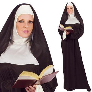 修道女 シスター コスプレ 衣装 仮装 ベール ハロウィン コスチューム 服装