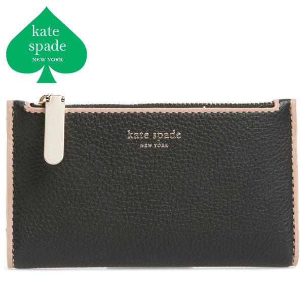 ケイトスペード 財布 二つ折り ミニ財布 折り財布 レディース ブランド 大人可愛い 本革 Kate Spade