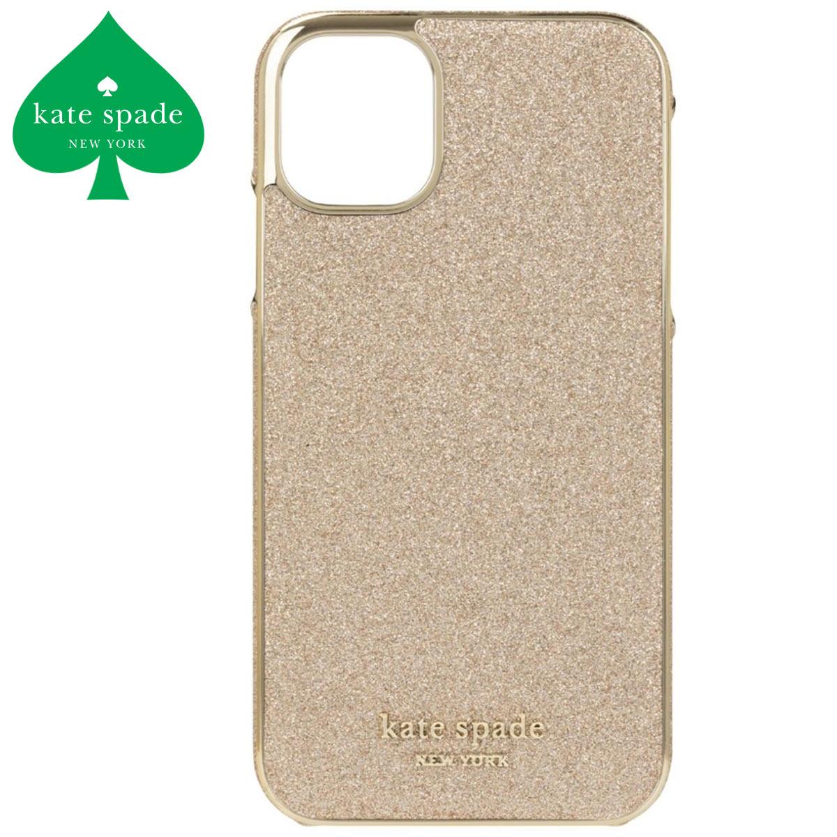 ケイトスペード iphone11 ケース ゴールド おしゃれ かわいい グリッター ブランド スマホケース iphone11 Kate spade
