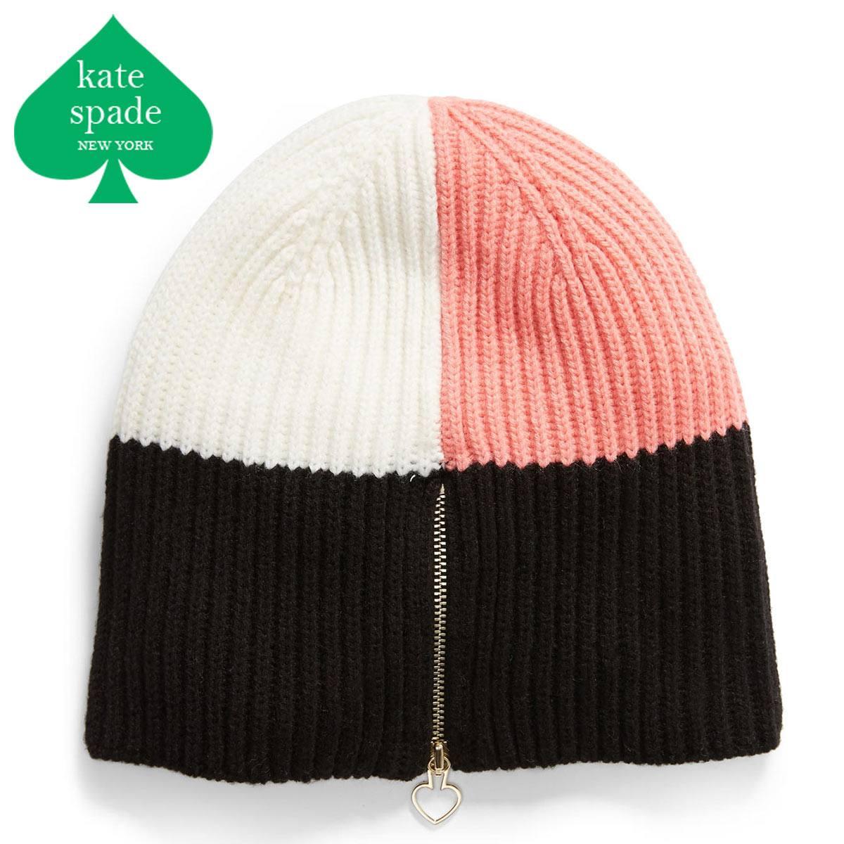 ケイトスペード ニット帽 ブランド レディース ビーニー ビーニー帽 ニット ニット帽子 KATE SPADE NEW YORK
