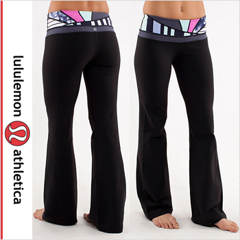 62cd29537e1 Lululemon pants training Yoga lululemon athletica Groove Pant color: black  quilted spring 13 02p60may15 ...