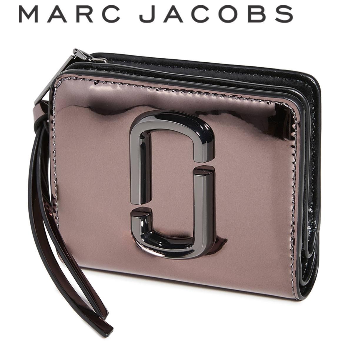 マークジェイコブス 財布 二つ折り ミニ財布 レディース ブランド コンパクト おしゃれ かわいい MARC JACOBS