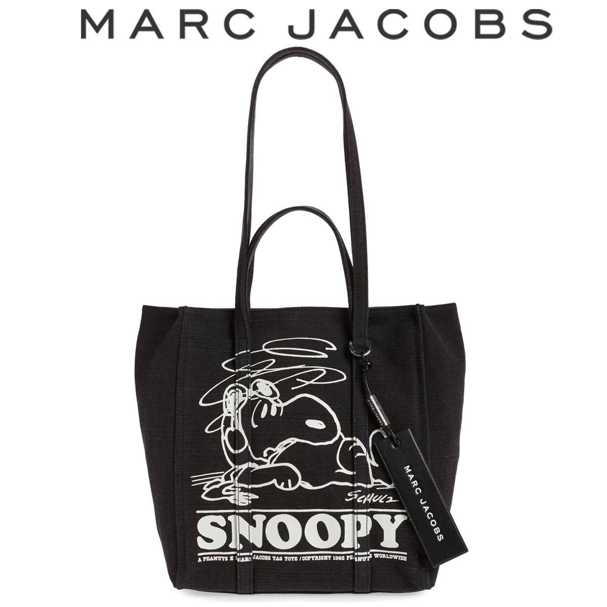 マークジェイコブス トートバッグ バッグ ショルダーバッグ スヌーピー ピーナッツ レディース 軽い ブランド MARC JACOBS