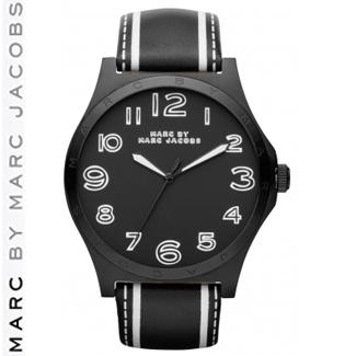 【正規品取扱店】 マーク バイ マーク ジェイコブス 腕時計 ヘンリー MARC BY MARC JACOBS MBM1233 - Henry カラー:ブラック