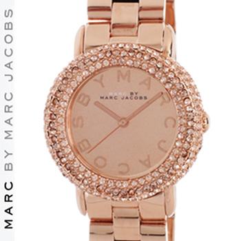 【正規品取扱店】 マーク バイ マーク ジェイコブス 腕時計 マーシー MARC BY MARC JACOBS 'Marci' MBM3192 カラー:ローズゴールド