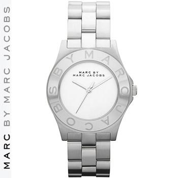 【正規品取扱店】 マーク バイ マーク ジェイコブス 腕時計 ラウンド MARC BY MARC JACOBS Round Bracelet Watch カラー:シルバー